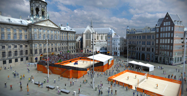 Host city venue - Amsterdam - FIVB Beach Volleyball World Championships The Netherlands 2015