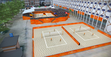 Host city venue - Apeldoorn - FIVB Beach Volleyball World Championships The Netherlands 2015