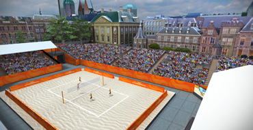 Host city venue - The Hague - FIVB Beach Volleyball World Championships The Netherlands 2015