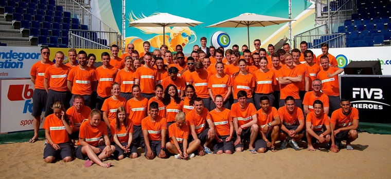 Volunteers - FIVB Beach Volleyball World Championships The Netherlands 2015